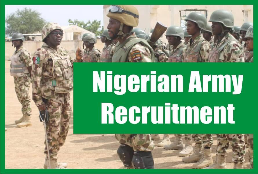 Nigerian Army Recruitment 2021: Application Form Portal, Requirements and Guide