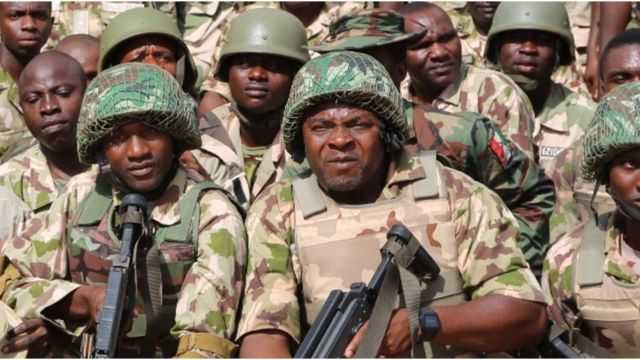 Nigeria Armed forces