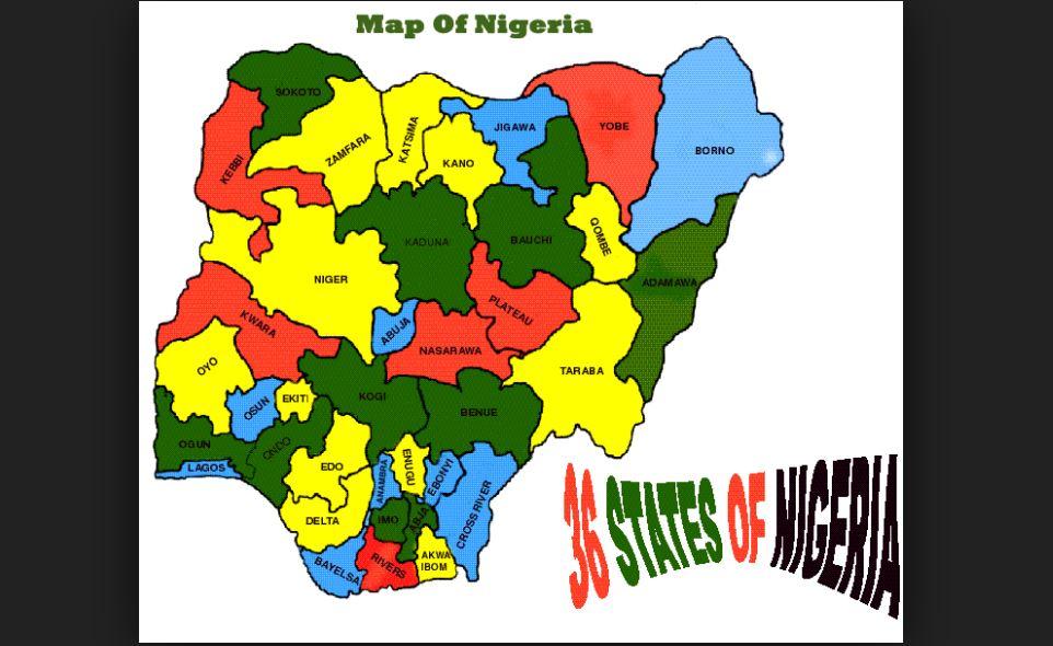 list of states in nigeria plus fct