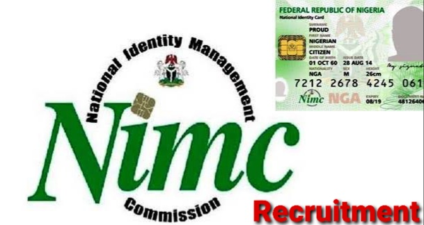 NIMC Recruitment 2021: Application Form Portal, Requirements and Guide