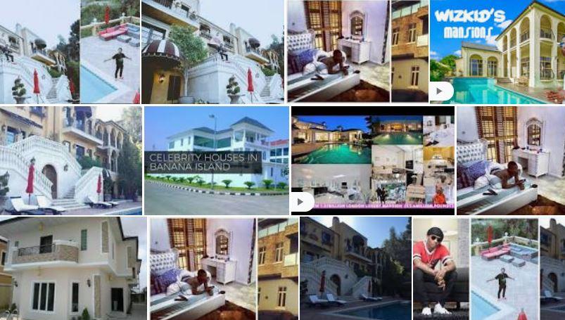 Wizkid Houses