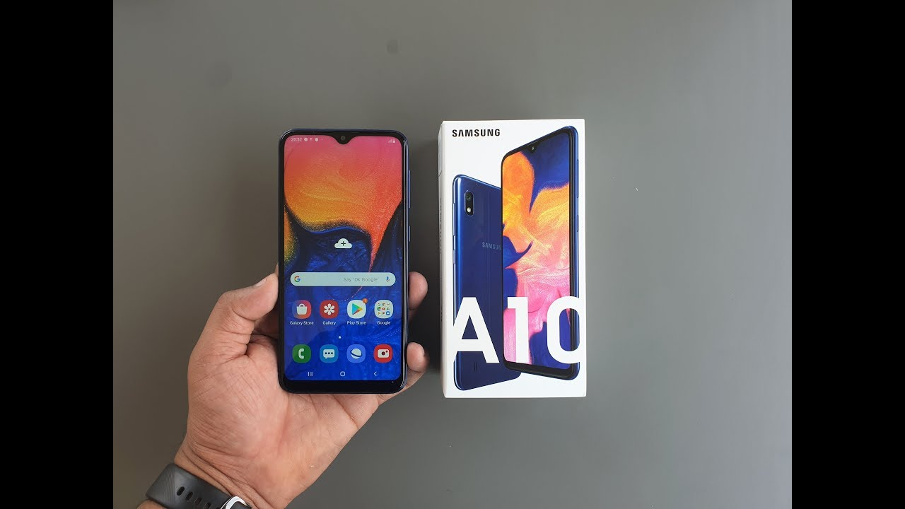 Samsung A10 price in Nigeria; full specs, design, review, where to buy