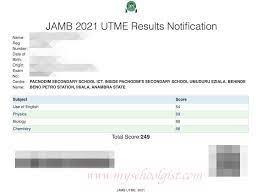 JAMB Result 2021: How to check UTME JAMB Results Online - portal.jamb.gov.ng