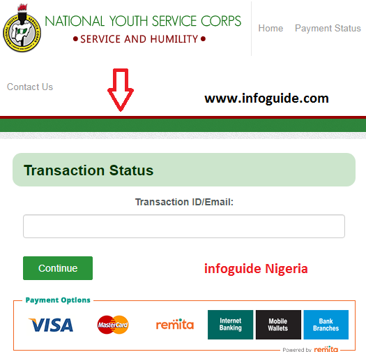 How To Make Payment On The NYSC Portal Using REMITA Pay Engine