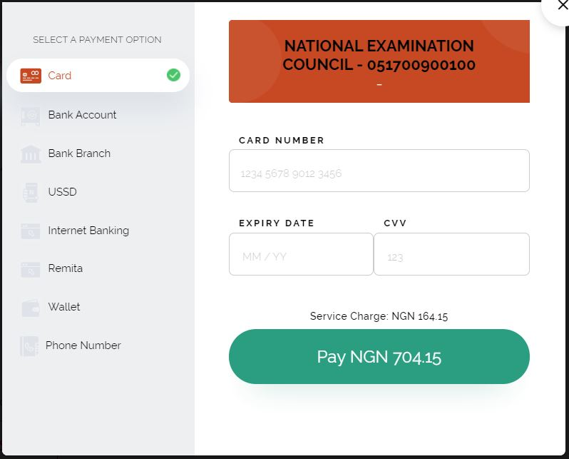 result.neco.gov.ng/dashboard How to Buy NECO Result Checker PIN