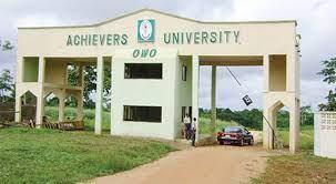 Achievers University Directives on Resumption of Academic Activities