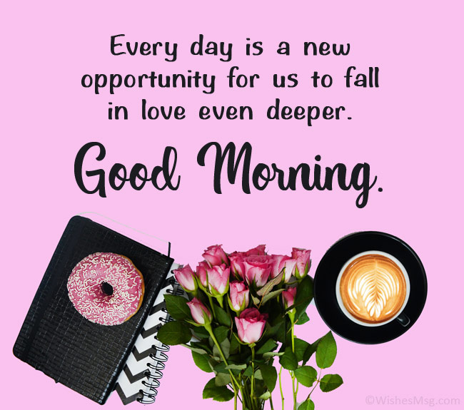 800+ Good Morning Messages for Her and Images to Brighten Her Day
