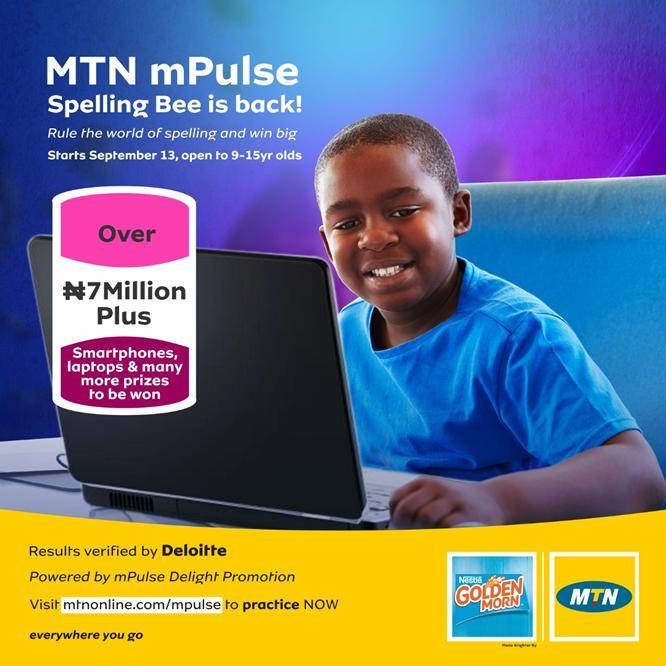 MTN MPulse Spelling Bee Competition: Requirement and How to Apply